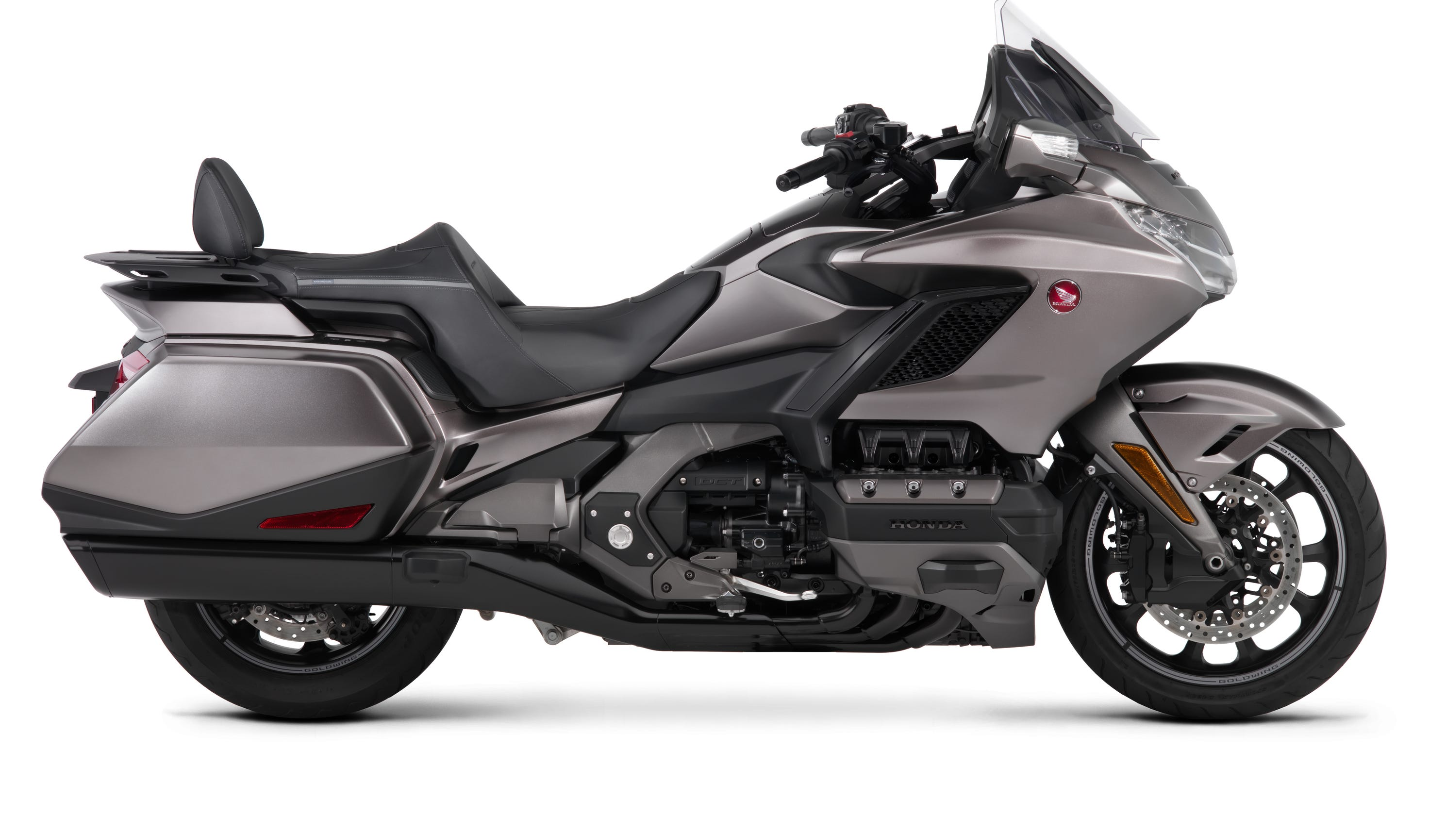 Honda Gold Wing motorcycles get lighter, new look