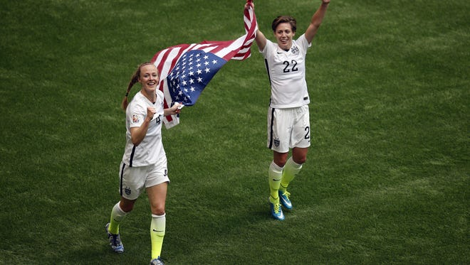 The USWNT won the Women's World Cup with a 5-2 victory over Japan.