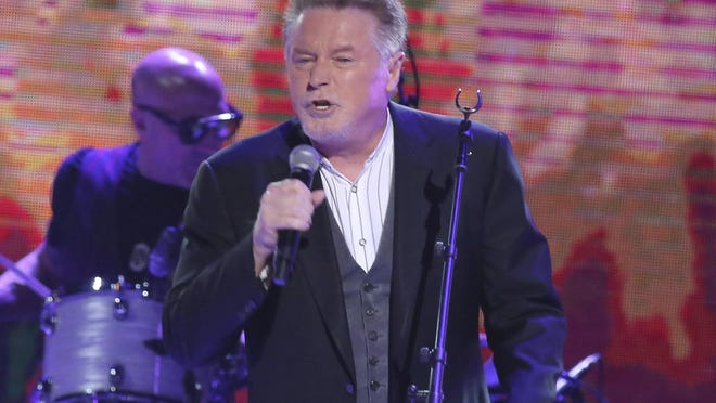 """FILE - In this Oct. 25, 2017 file photo, artist Don Henley performs at """"All In For The Gambler: Kenny Rogers' Farewell Concert Celebration"""" at Bridgestone Arena in Nashville, Tenn. Henley this week urged Congress  to """"Take It to the Limit"""" to protect artists against online pirating."""