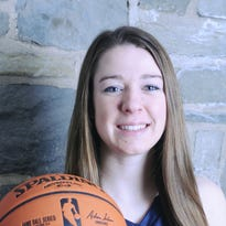 Girls Basketball Player of the Year Emily Ferreri of Our Lady of Lourdes High School.