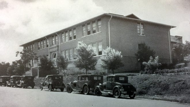 A historic photo of Western New Mexico University's Light Hall, where Founder's Day will be celebrated on Friday, Feb. 9, 2018.