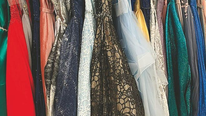 New styles, new colors and plenty to choose from for prom season this year at Small Town Curves in Pratt.