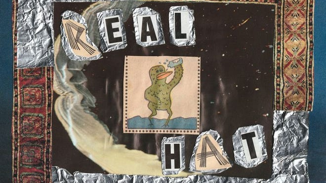 """Cover art for Tristan Huygen's """"Real Hat"""" EP."""