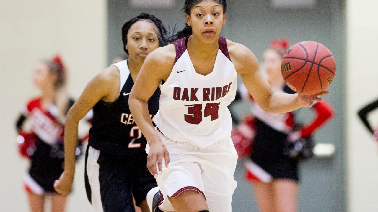 Clips from the Oak Ridge vs Central girls game