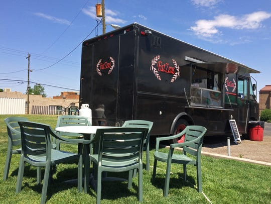 Fat Zeus is a Cedar City-based Greek food truck.