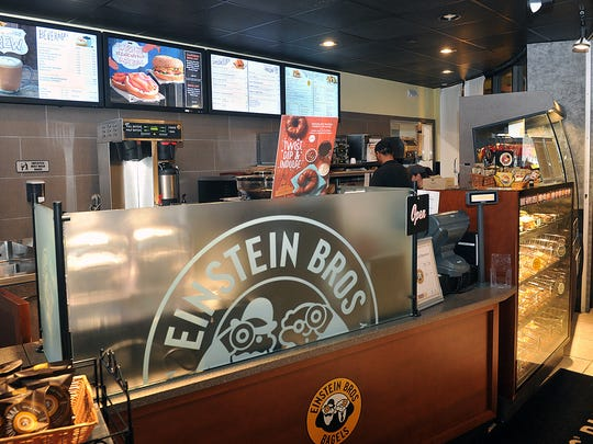 Einstein Bros. Bagels is a popular option for grab and go foods and coffee in the Dillard College of Buisness Administration at Midwestern State University. The school recently spent about $5 million on upgrades, meal plan options, remodeling and expansion for dining services. About 1,100 students use the meal plan.