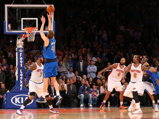 Knicks vs. Mavericks