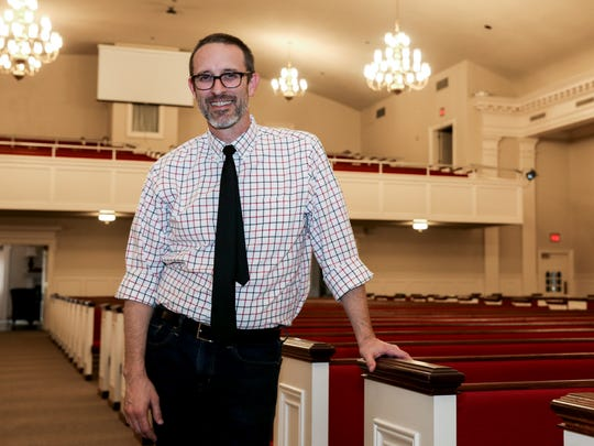 Scott Allen is the minister at Johnson Street Church at 2200 Johnson St. in San Angelo.
