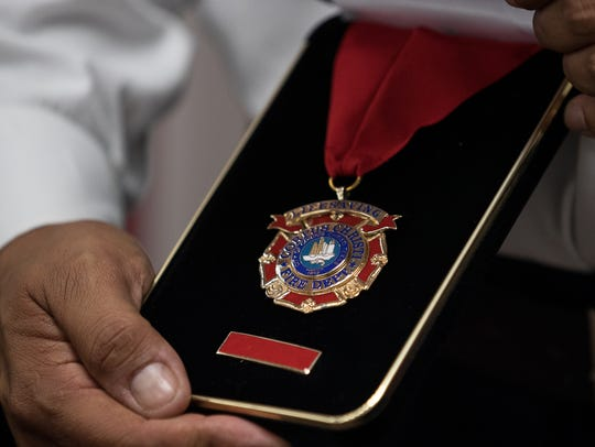 Corpus Christi Fire Battalion Chief Juan Tony Perez