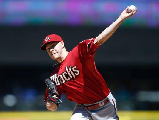 MLB: Arizona Diamondbacks at Seattle Mariners