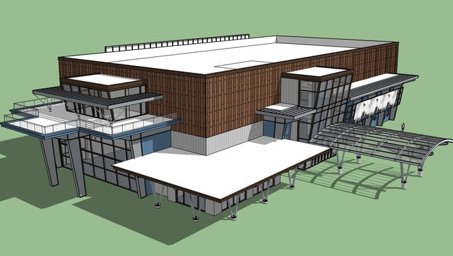 Rob Burroughs of the Northern California Veterans Museum and Heritage Center hopes ground can be broken as early as this summer for a proposed veterans museum at the top of Cottonwood Hill off Rhonda Road between Anderson and Cottonwood.