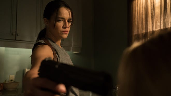 Frank (Michelle Rodriguez) is punished with a sex change in controversial thriller 'The Assignment.'