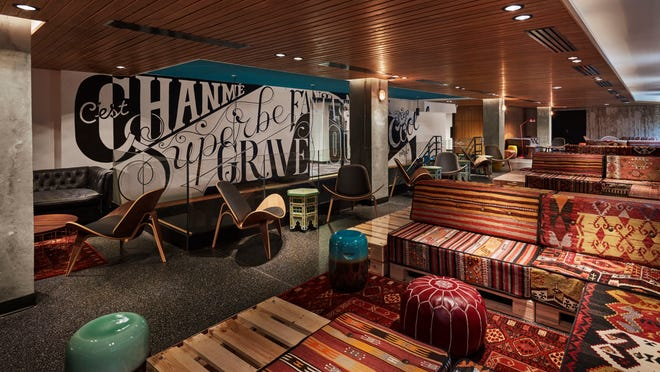 In a hostel, including this Generator Hostel, four to 20 travelers sleep in rooms of bunk beds and share a communal bathroom with other floor mates in major European and American cities for $15 to $40 a night.