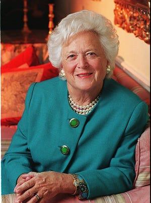 Barbara Bush, former first lady and matriarch of Bush family, dies at 92