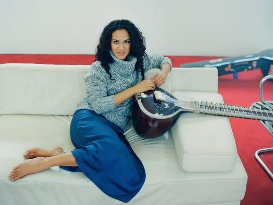 Anoushka Shankar will perform March 24 at the Center