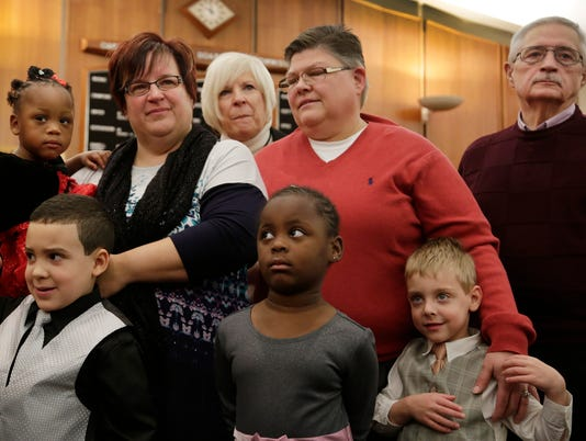 Gay Marriage Michigan couple