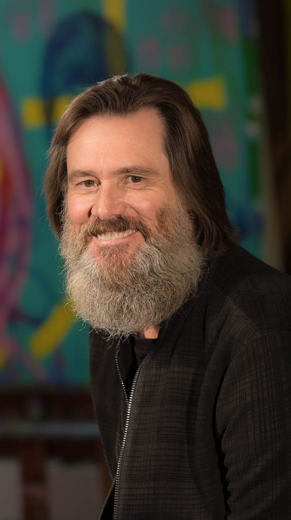 Jim Carrey's newest character is as plain as the beard on ...