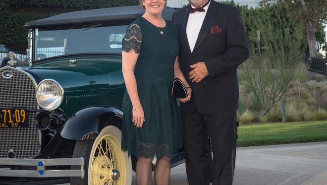 Sarah Clapp, Executive Director of Guide Dogs of the Desert, with her husband Richard Clapp.