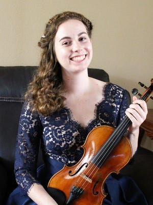 Bayside High 2017 Top Scholar Rachel Peebles