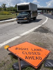 The signs come down as much of the Ford Road work is completed.
