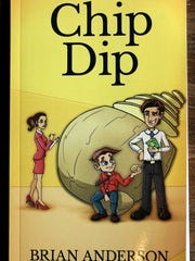 Brian Anderson's first book is a comic novel, set in