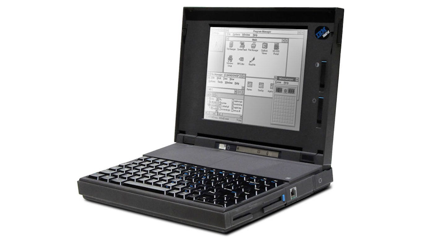 ibm thinkpad notebook 1992?width=540&height=405&fit=crop check out how much a computer cost the year you were born