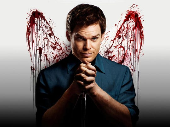 """Michael C. Hall played the title psychopath in the TV version of Jeff Lindsay's """"Dexter"""" book series."""