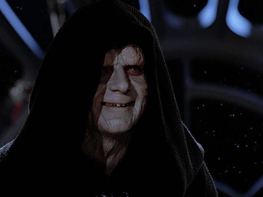 "Ian McDiarmid played Emperor Palpatine in ""Star Wars"" movies."