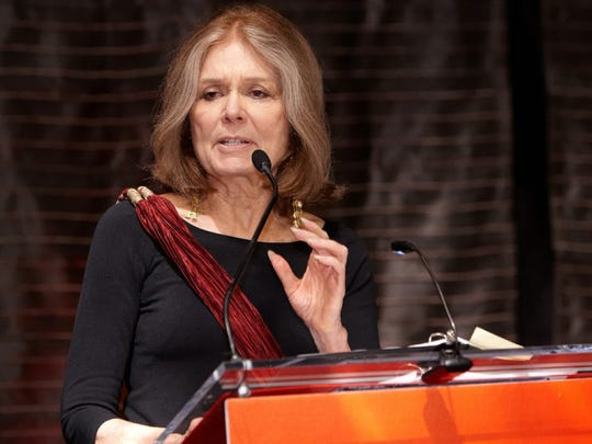 Gloria Steinem, he feminist, editor, and author who also co-founded Ms. magazine.