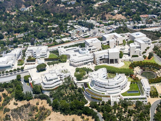 The Getty Museum, known for Renaissance-era art and work by contemporary artists.
