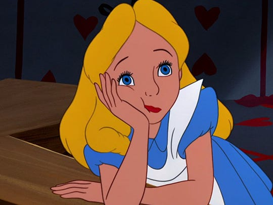 """There's a strange """"Alice in Wonderland"""" vibe happening at the Arizona Capitol."""