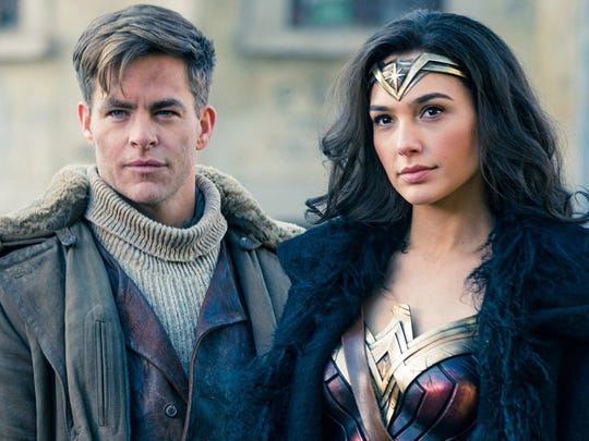 "Chris Pine and Gal Gadot wowed in ""Wonder Woman."" But the critically acclaimed superhero movie missed out on a best-picture nomination."