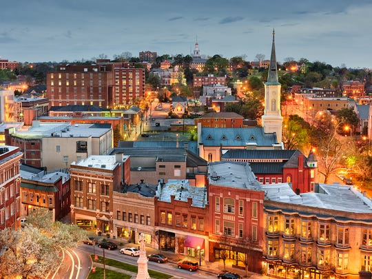 43. Macon-Bibb County, GA   • Population decrease due to migration, 2010-2017:  -7,877   • Population change, 2010-2017:  -1.5% (232,286 to 228,914)   • Natural growth, 2010-2017:  21,752 births, 17,233 deaths   • Median home value:  $122,000   ALSO READ: 20 Companies Profiting the Most From War