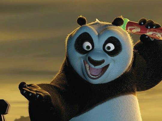 "2008's ""Kung Fu Panda"""
