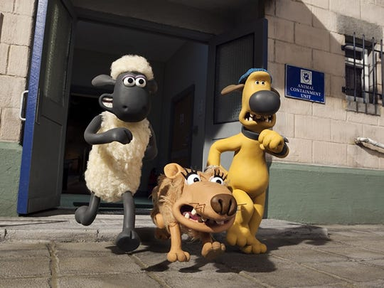 "2015's ""Shaun the Sheep Movie"""