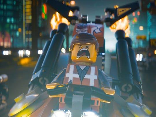 "2014's ""The Lego Movie"""