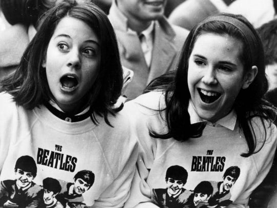 The fans couldn't get enough of The Beatles, or their merch.