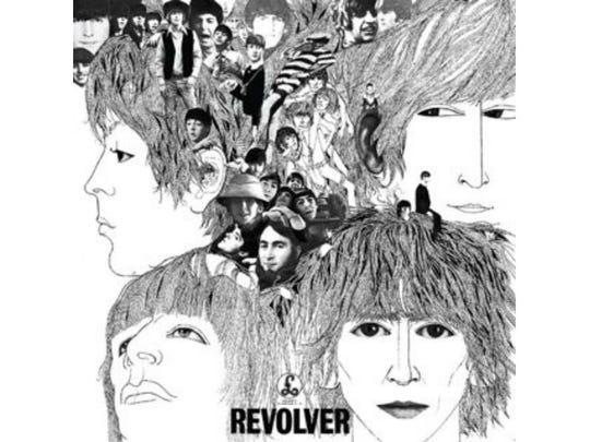 """Klaus Voormann's Grammy-winning design for """"Revolver."""""""
