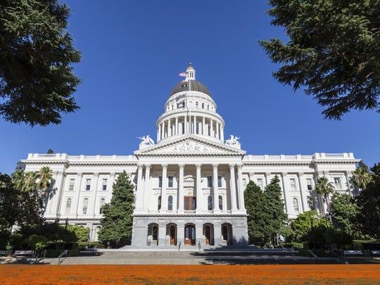 California's State Capitol in Sacramento.