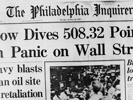 1987: Stock Market Tanks