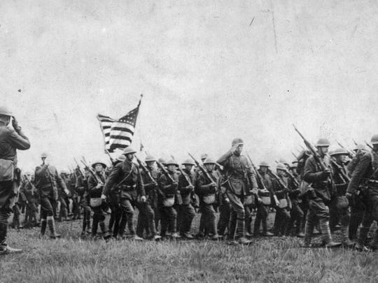 1917: US Enters WWI