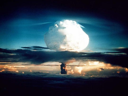 The United States successfully detonated its first hydrogen bomb, a second generation thermonuclear device, in the Marshall Islands in 1952 as part of Operation Ivy, one of a series of nuclear bomb tests.