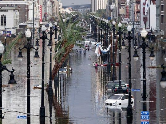 2005: Katrina Overwhelms New Orleans