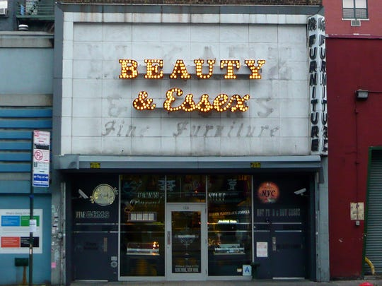 50. Beauty & Essex     • Location:  New York City, NY     • Annual sales:  $16,308,810     • Avg. check:  $85     • Meals served annually:  191,505     This quirky place on Manhattan's trendy Lower East Side is a functioning pawn shop up front, filled with merchandise for sale — some of it genuinely pawned, some of it chosen second-hand by curator Lauren Kaminsky. Through a door at the back of the shop, though, is a bustling restaurant, complete with four dining rooms, two bars, and a lounge.     The imaginative menu includes such mashups as tuna poke wonton tacos, Caesar toast with crispy chicken skin, and chile relleno empanadas. The restaurant — owned by Madison Square Garden Co.'s Tao Group, which is well-represented on this list (see No. 14, No. 7, No. 3, and No.1) — has siblings in Las Vegas and Los Angeles.