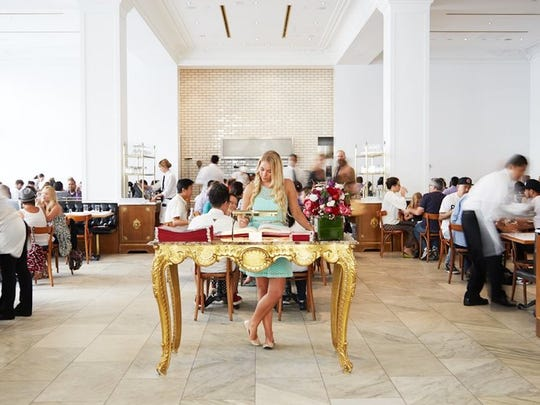 18. Bottega Louie     • Location:  Los Angeles, CA     • Annual sales:  $21,720,463     • Avg. check:  $35     • Meals served annually:  729,612     This 255-seat restaurant in downtown Los Angeles has a gourmet market, patisserie, and café attached. Breakfast, weekend brunch, lunch, and dinner are served. Pizzas, pastas, small plates, such as gazpacho, Sicilian tuna crudo, meatballs marinara, etc., and a selection of main dishes are offered day and night. Yelp named Bottega Louie as one of the 30 L.A. restaurants worth a wait (reservations aren't accepted). A West Hollywood location is planned for 2019.