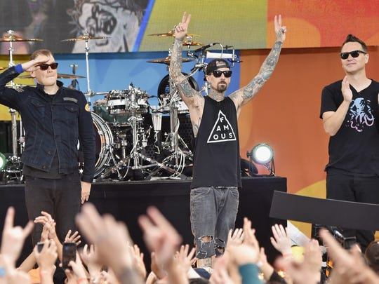 The Vans Warped Tour will bring dozens of acts, including 311, Blink-182 (pictured), Good Charlotte and more to Atlantic City, just one of three North American stops.