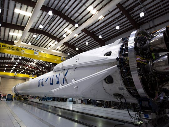 NASA has released a schedule for test flights by Boeing and SpaceX for spacecraft to ferry U.S. astronauts to and from the International Space Station. SpaceX appears to have the jump on Boeing.