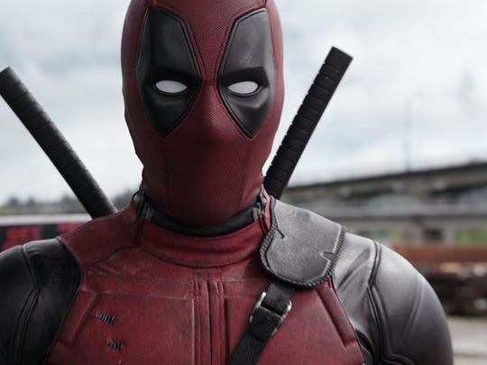 "Ryan Reynolds is back in costume for ""Once Upon A Deadpool."""