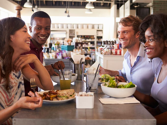 Going out to eat is more popular than ever. Americans
