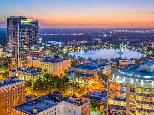 Orlando-Kissimmee-Sanford, Florida
